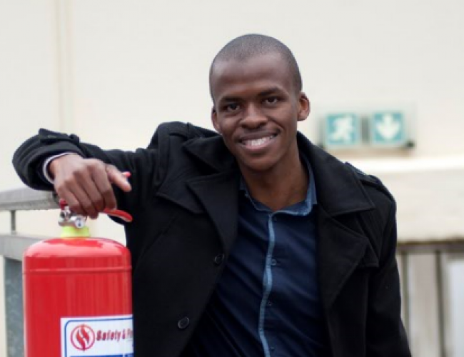 Thulani Ntshuntshe creates entrepreneurial success with Five Star Fire
